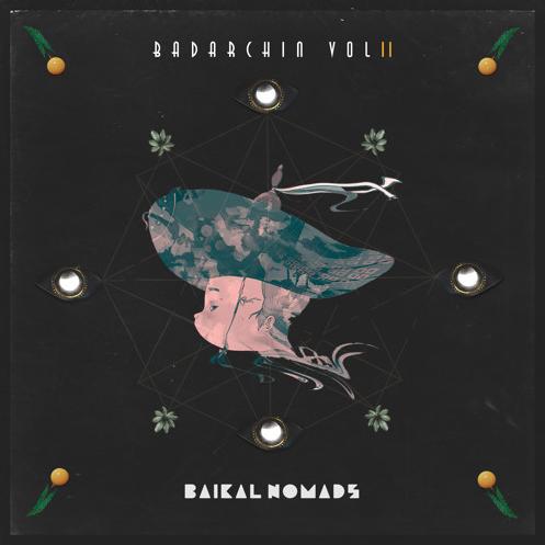 """Second VA album """"Badarchin"""" from Baikal records."""